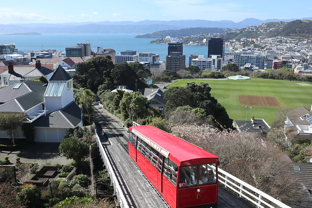 Cable Car - Wellington New Zealand