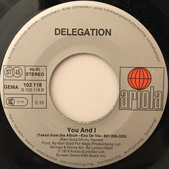 DELEGATION:PUT A LITTLE LOVE ON ME(LABEL SIDE-B)