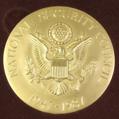 1987 National Security Council medal obverse