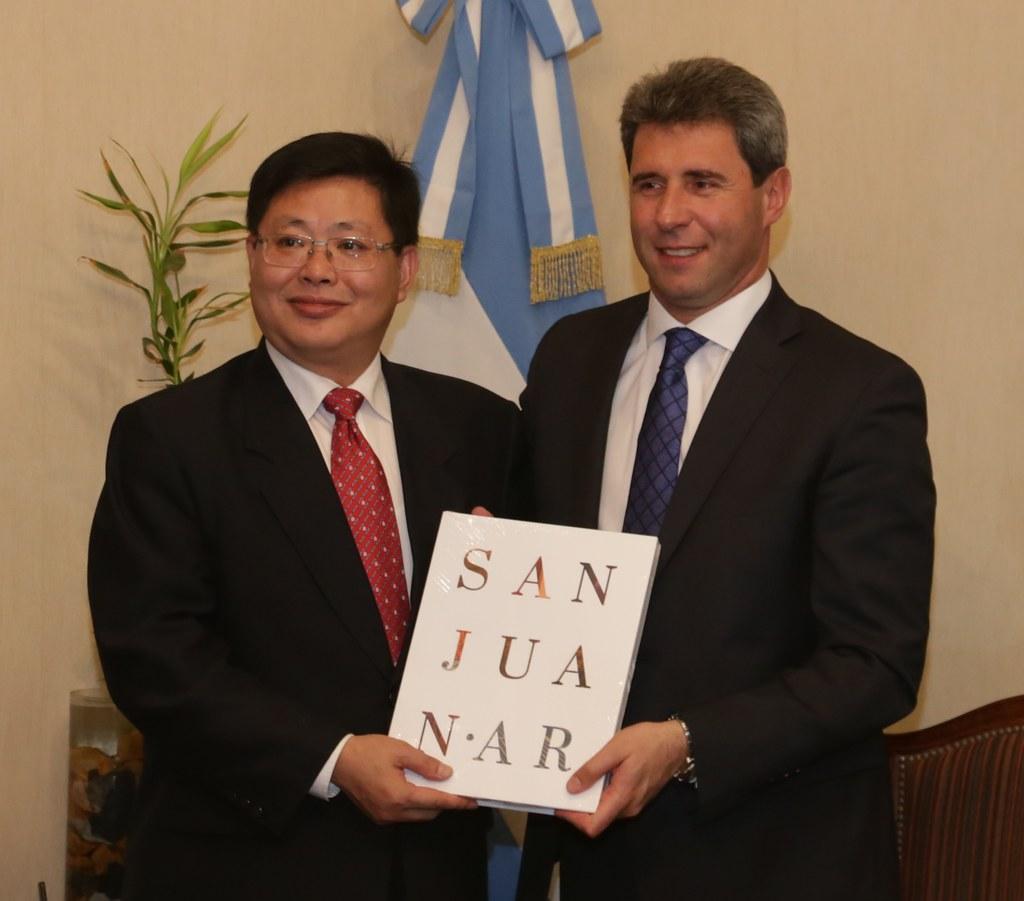 San Juan: Funcionarios de la provincia china de Shandong visitaron a Sergio Uñac