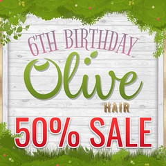 .Olive. 6th birthday SALE