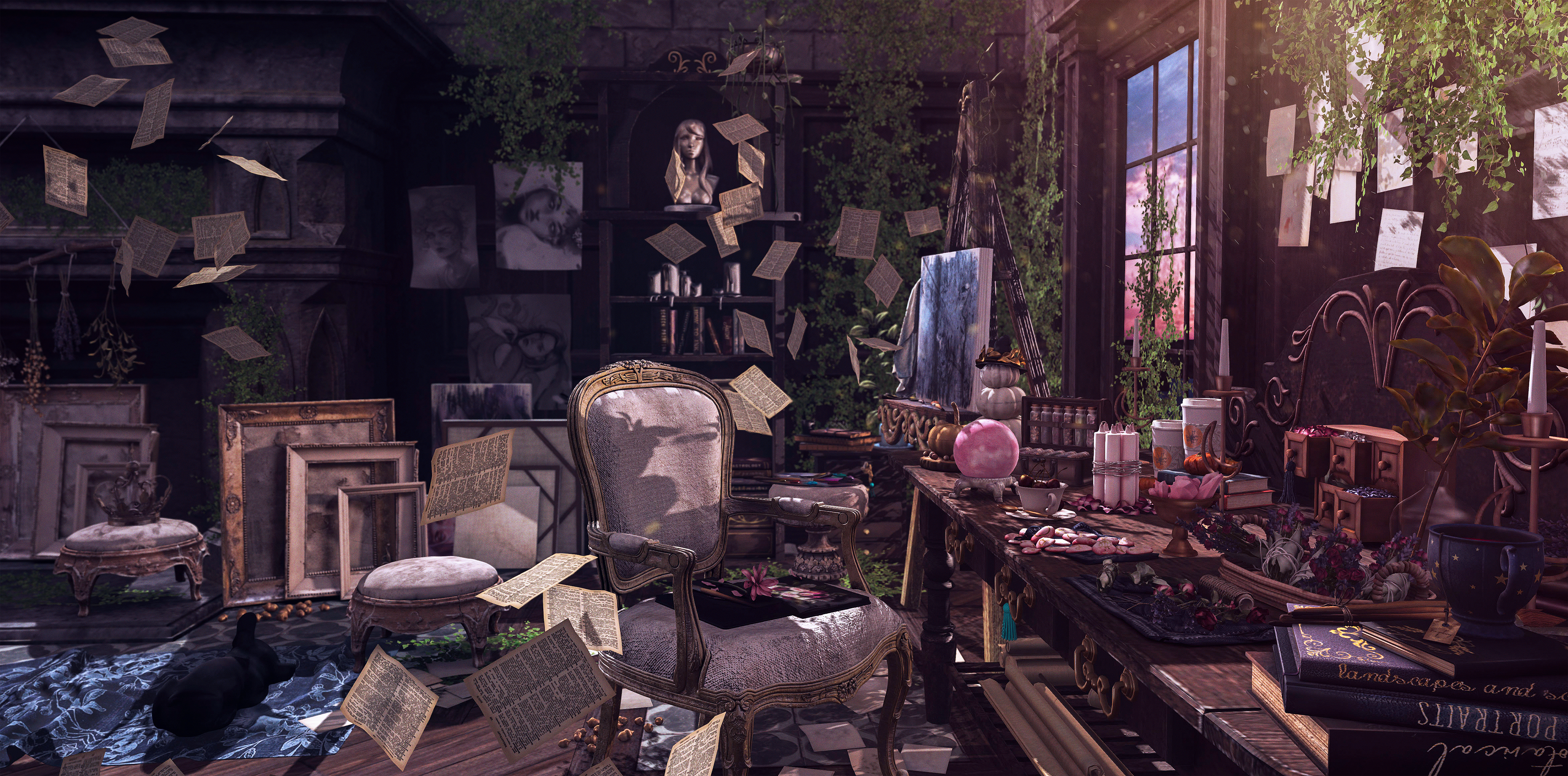 Cluttered Spaces.