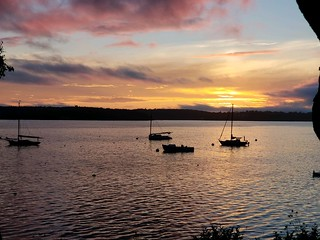 Spruce Point Sunset