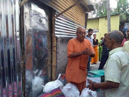 reliefservices ramakrishnamission darjeeling