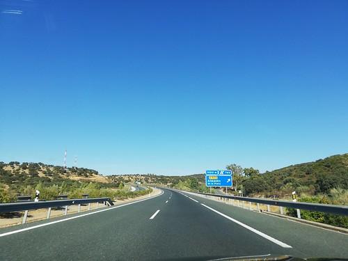 A66 - saída Almadén de la Plata
