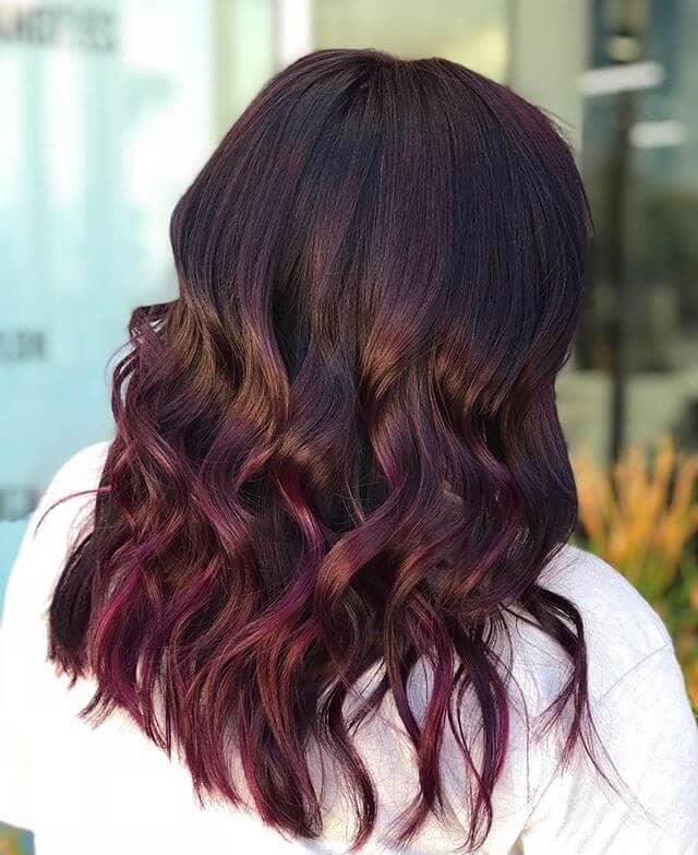 best burgundy hair dye to Rock this Fall 2019 10