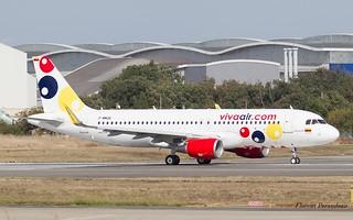 F-WWDA // HK-5286 VivaColombia Airbus A320-214(WL) MSN 8481