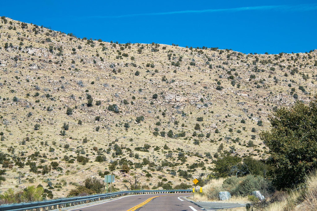 Mt. Lemmon Scenic Byway scenery