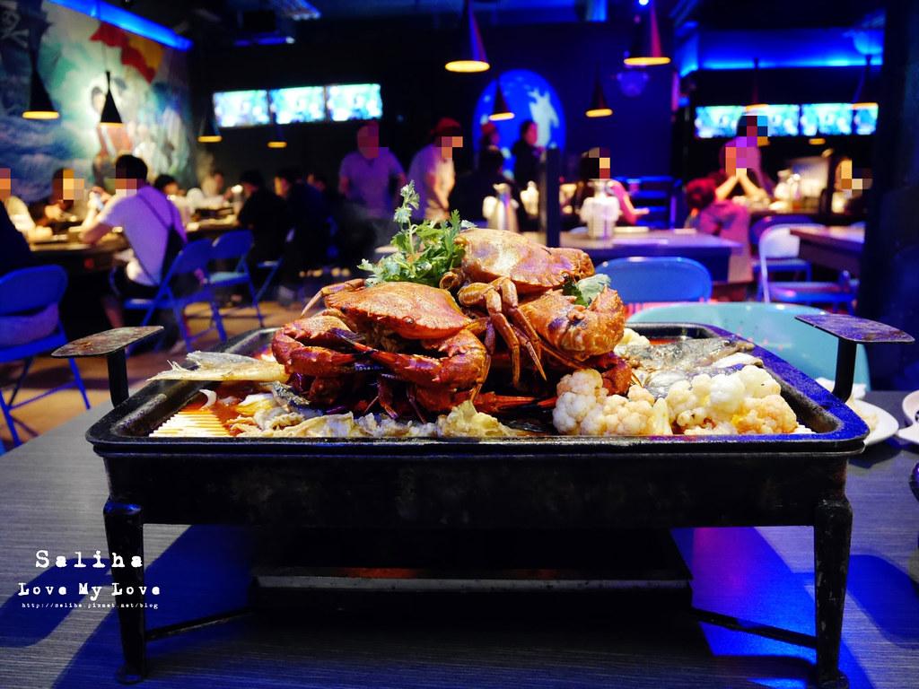 新北中和大份量好吃海鮮螃蟹火鍋餐廳推薦水貨炭火烤魚中和店 (5)