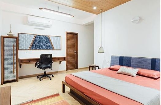 A Mediterranean style apartment