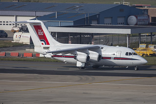 ZE700, BAe 146-100 Royal Air Force @ Brussels BRU EBBR