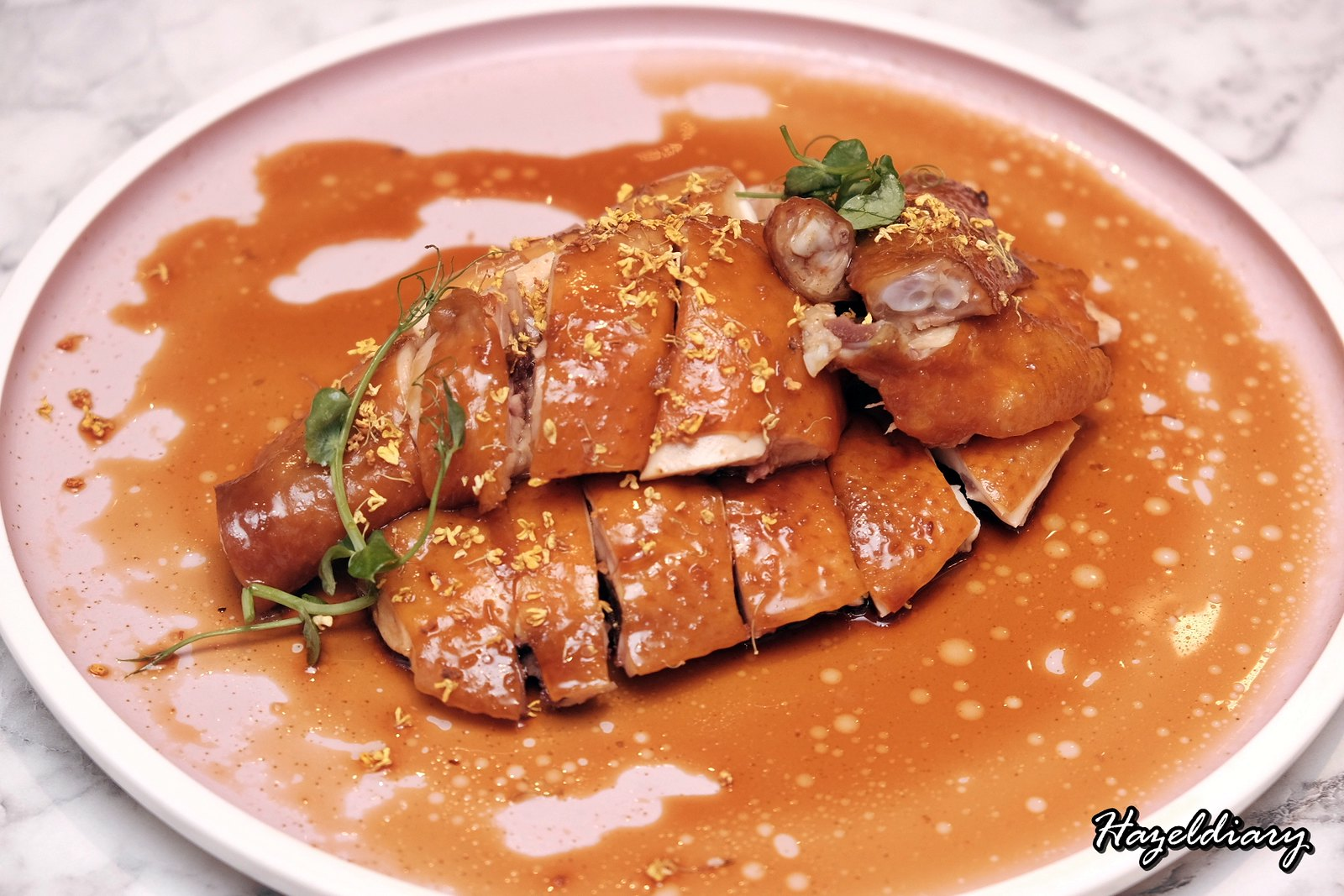 Crystal Jade Kitchen Holland Village-Soya Sauce Chicken with Osmanthus