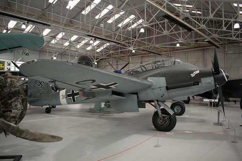 Messerschmitt Me-410 at the RAF Museum Cosford