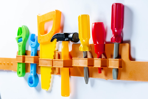 Set of children's tools | by wuestenigel