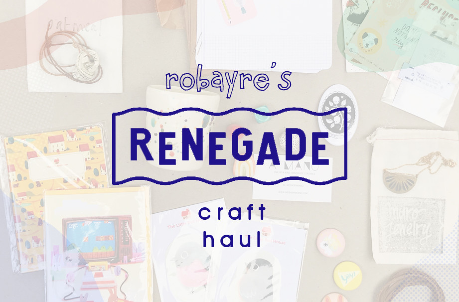 renegade craft haul