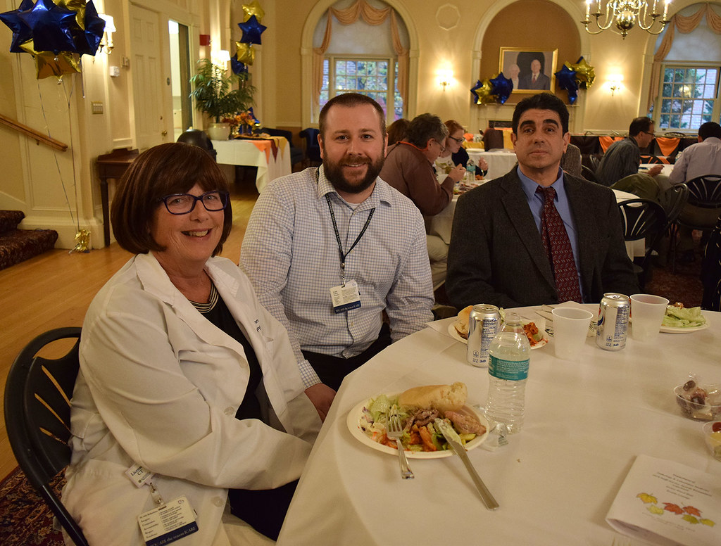 Dozens of Pathology & Lab Medicine staff were honored at the annual Years of Service Luncheon on Nov. 9, 2018.