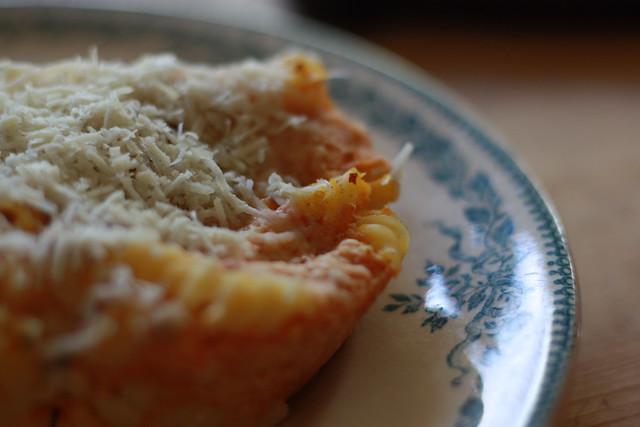 Gratin pâtes et citrouille