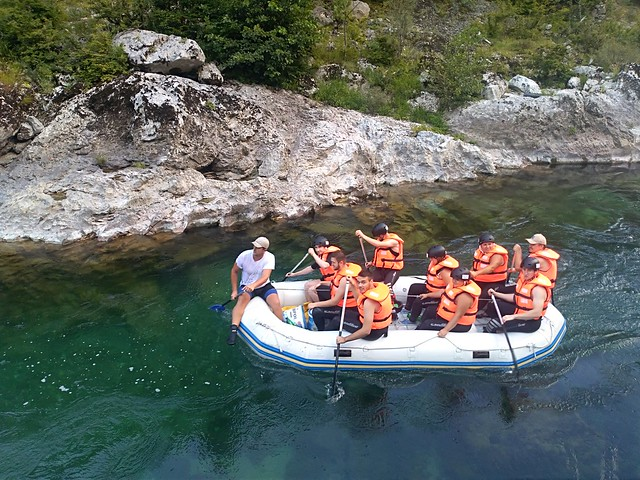 new albumWhite water rafting Neretva