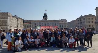 In piazza a Trieste