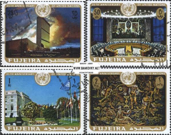 Známky Fujeira 1970 25 rokov OSN
