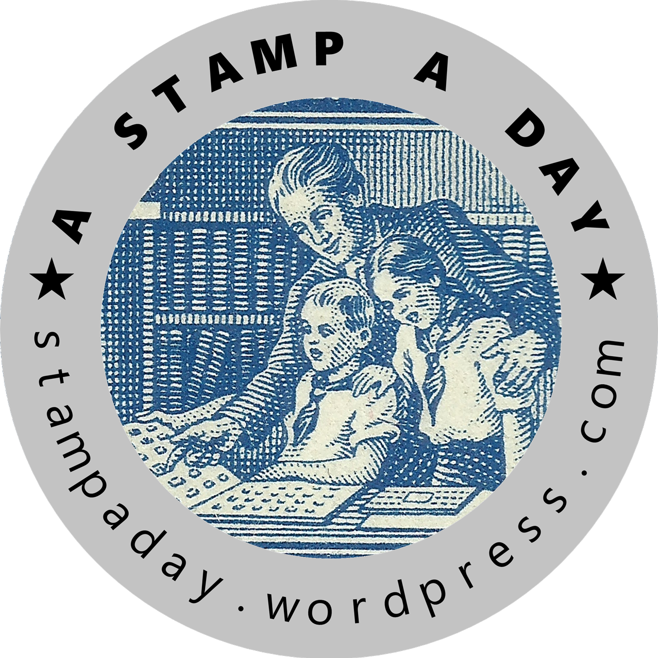 A Stamp A Day Facebook page profile photo, November 2018
