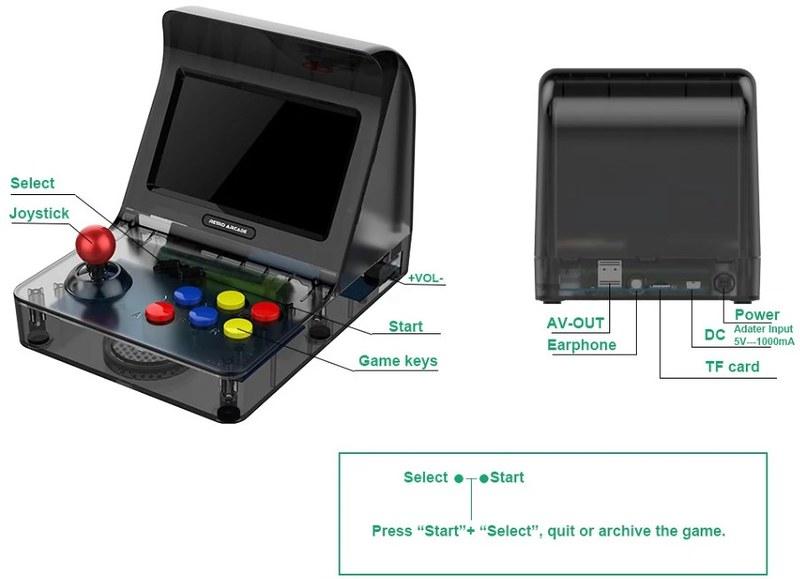A8 Retro Arcade Game (2)