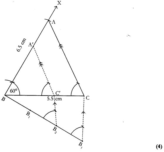 CBSE Sample Papers for Class 10 Maths Paper 10 40