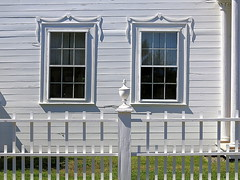 Tilting windows, the Ruggles House (1818-20), Columbia Falls, Maine, USA
