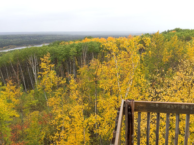 Prince Albert National Park: Height-of-Land Tower