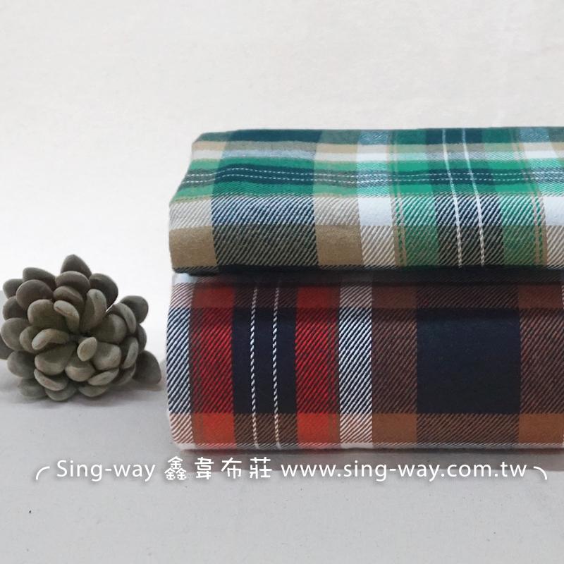 格紋 桌巾 門簾 服裝手工藝DIy拼布布料 FC490433