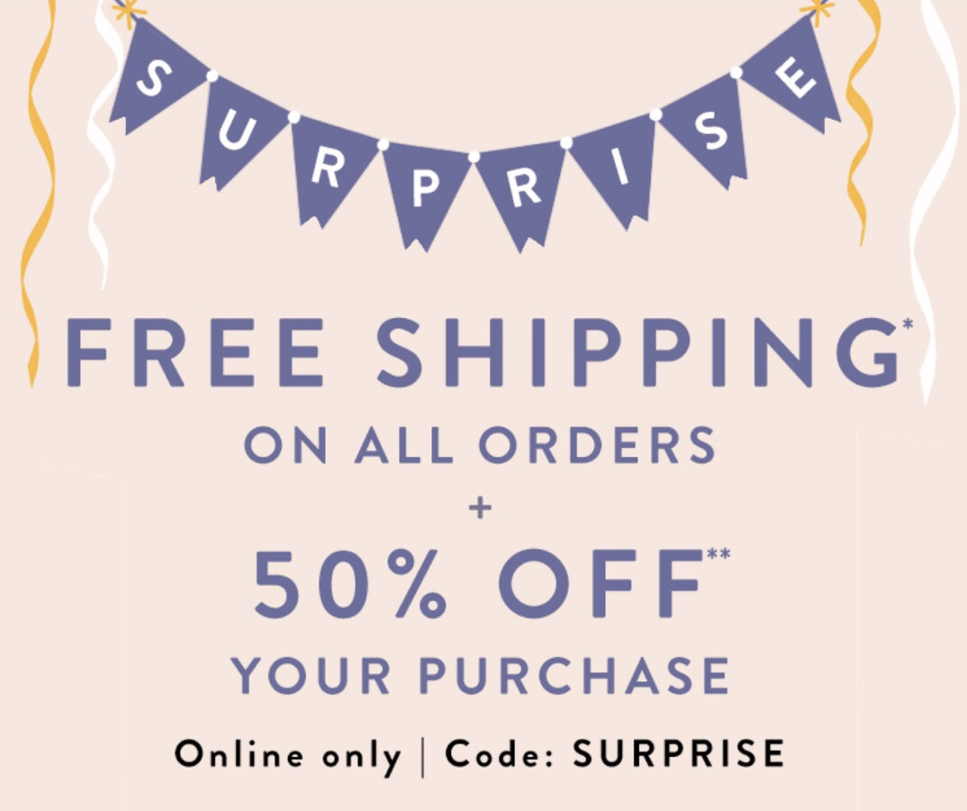 LOFT Surprise Sale: 50% Off Plus FREE Shipping