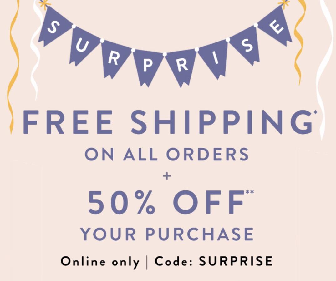 LOFT Surprise Sale: 50% Off Plus FREE Shipping
