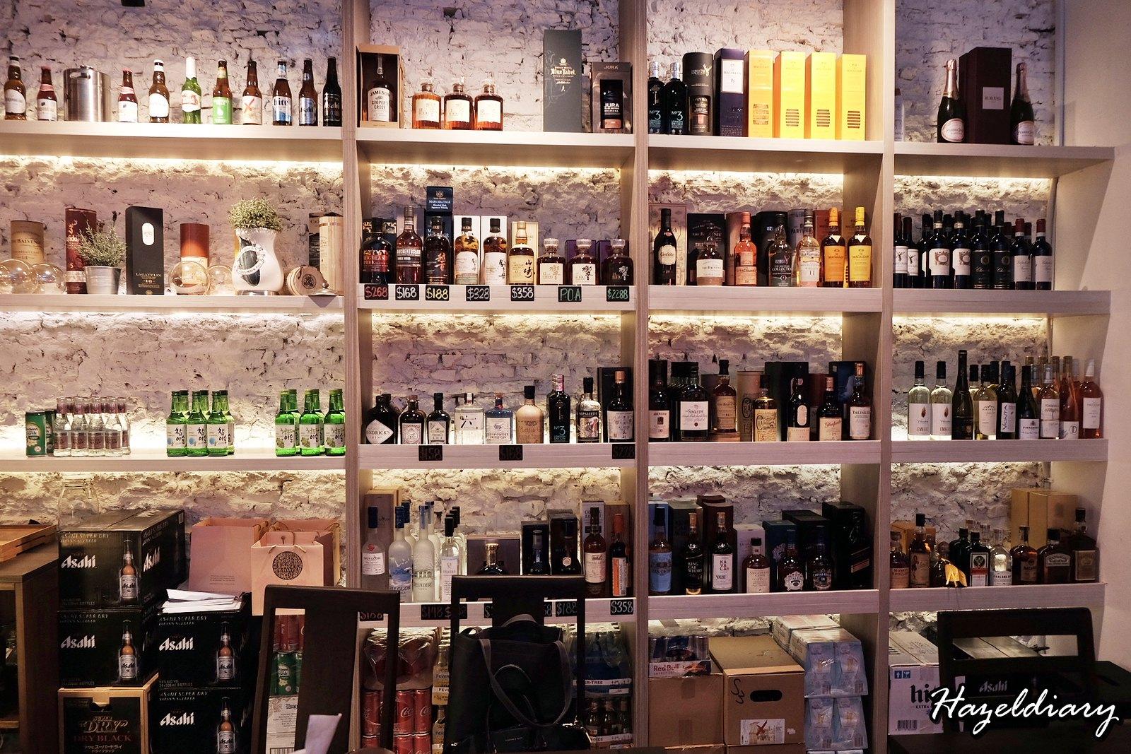 House of MU-Hazeldiary-Alcohol Selection