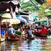 3. Excursión en un mercado flotante de Tailandia