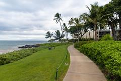 Wailea beachwalk Maui Hawaii