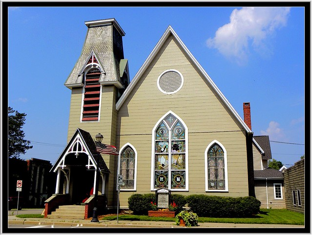 Springville New York - United Church of Christ - HIstoric Building