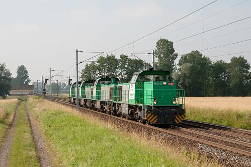 Le train 95768 Hausbergen - Réding à Eckwersheim