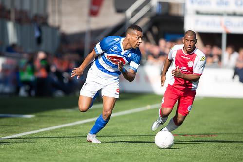 Sfeerbeelden van de derby tussen SV Spakenburg en VV IJsselmeervogels op 29 september 2018