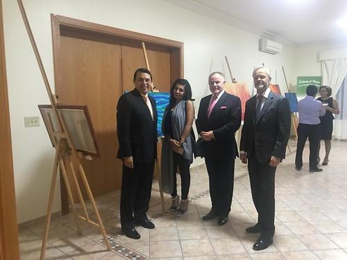 Exhibición de pintura. Margarita Chacón