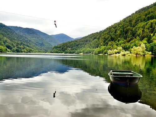 Lac de Kruth-Wildenstein, France (Alsace)