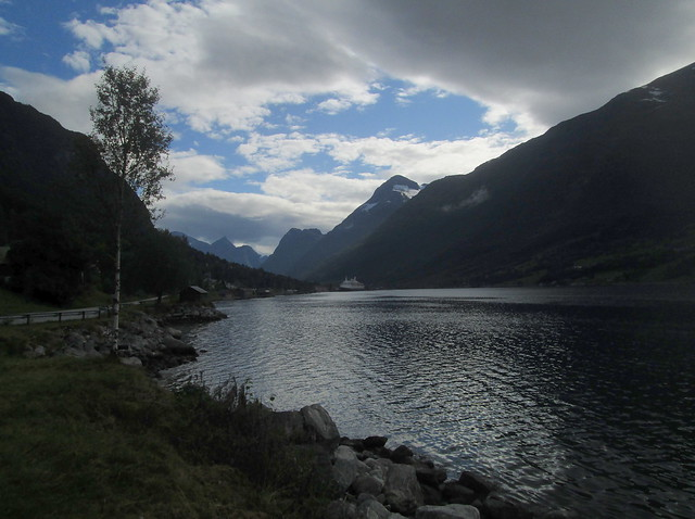 View in Olden, Norway