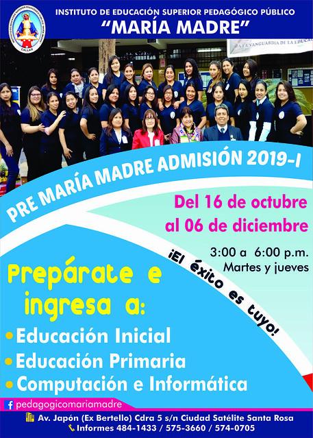 PRE MARÍA MADRE-2019-I