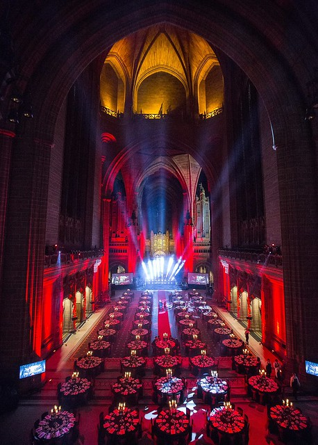 Liverpool Cathedral Dinner Setting