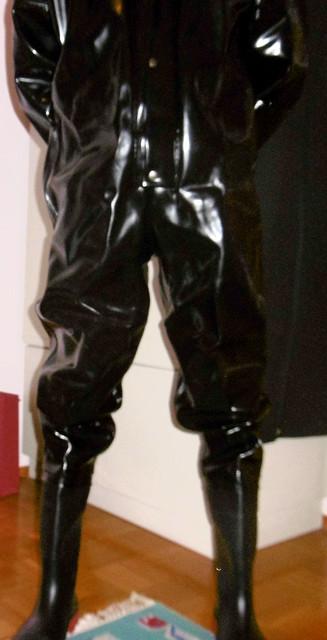 full body PVC suit, Panasonic DMC-SZ10