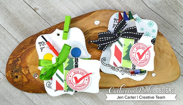 Jen Carter Make Own Tags Kits 2 with CP WM