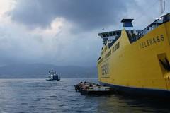 Stretto messina. Telepass ship