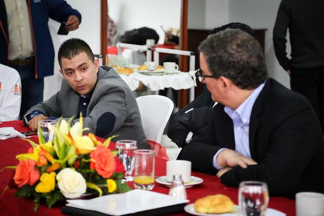 Mesa de trabajo y diálogo social proyecto rumi