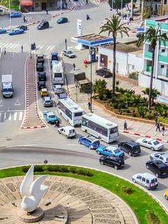 Circulation place Hamama, Tétouan