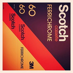 Cassettes: 3M Scotch Ferrichrome C60