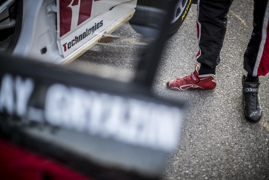 GRYAZIN Nikolay (LVA), SPORTS RACING TECHNOLOGIES, Skoda Fabia R5, ambiance, during the 2018 European Rally Championship PZM Rally Poland at Mikolajki from September  21 to 23 - Photo Gregory Lenormand / DPPI